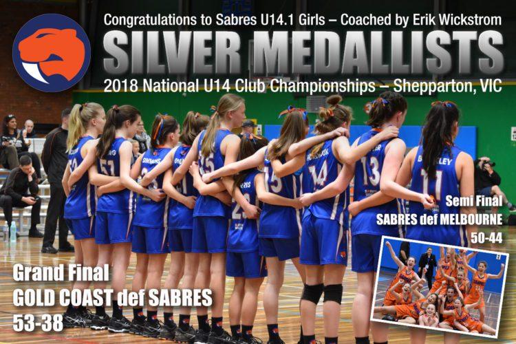 Under 14 Girls Bring Home Silver
