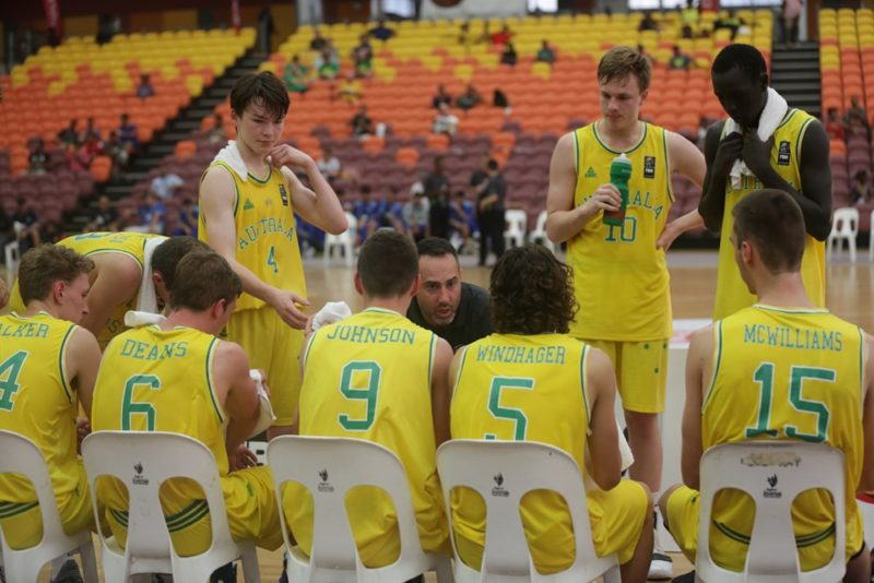 SABRES COACH LEADS AUSSIES TO GOLD